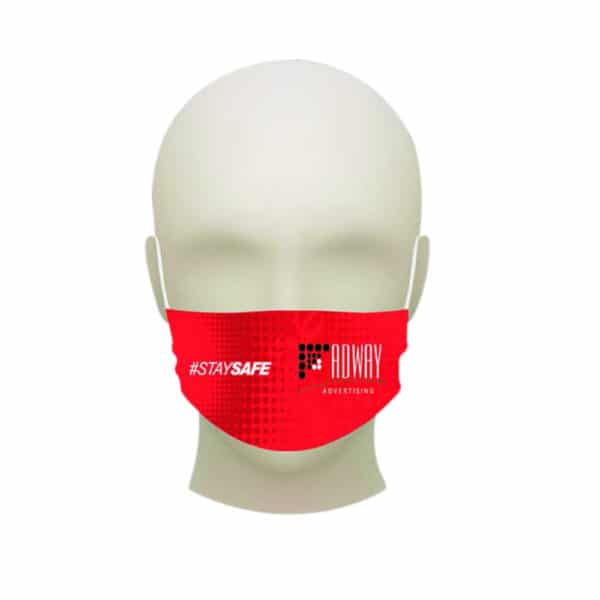 Branded Face Mask Small